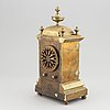 A french table clock signed victor paillard, second half of the 19th century.