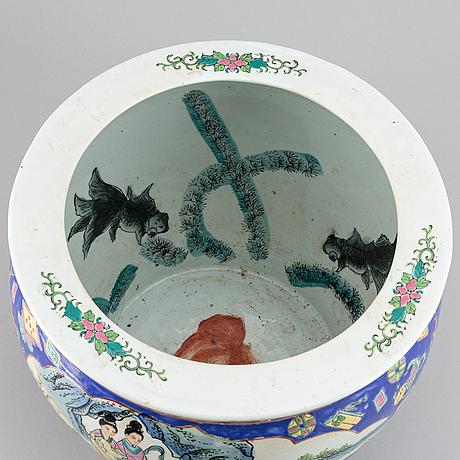 A chinese 20th century fish tank.