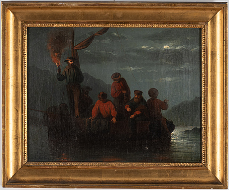 Kilian zoll, oil on canvas, inscribed.