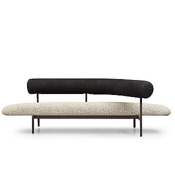 "13. Javier Mariscal, & Pepe Cortes, ""M.O.R. Sillon "", sofa, Akaba, Spain ca 1986."