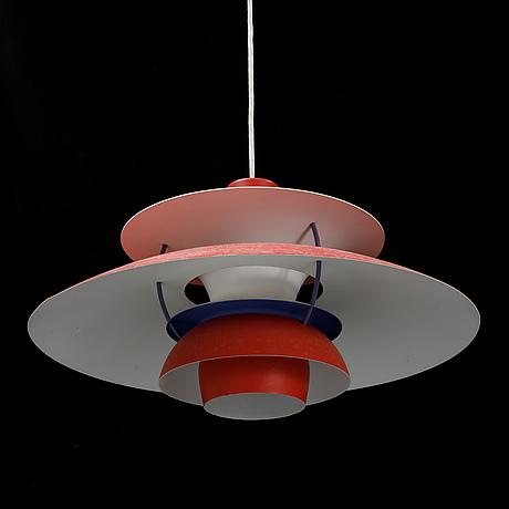 Poul henningsen, a 'ph-5' pendant light, louis poulsen, denmark.