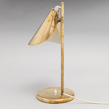 A mid-20th century table lamp.