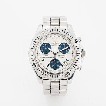 Breitling, Chrono Colt Ocean (100 Metres/330 Feet), Chronometre, wristwatch, chronograph, 37,6 mm.