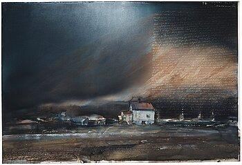 "94. Lars Lerin, ""Bestefars hus""."