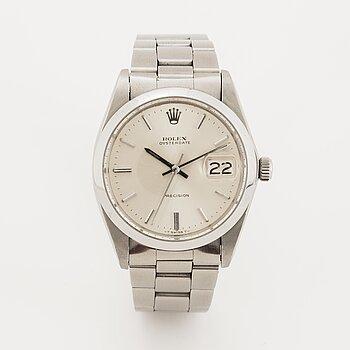 Rolex, Oysterdate, Precision, wristwatch, 35 mm.