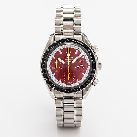 Omega, speedmaster reduced schumacher, wrsitwatch, 39 mm.