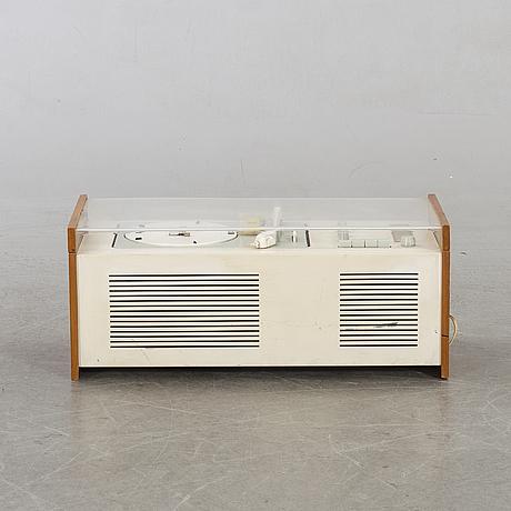 Dieter rams & hans gugelut, skivspelare, braun, modell sk 4/1, tyskland 1950-60-tal.