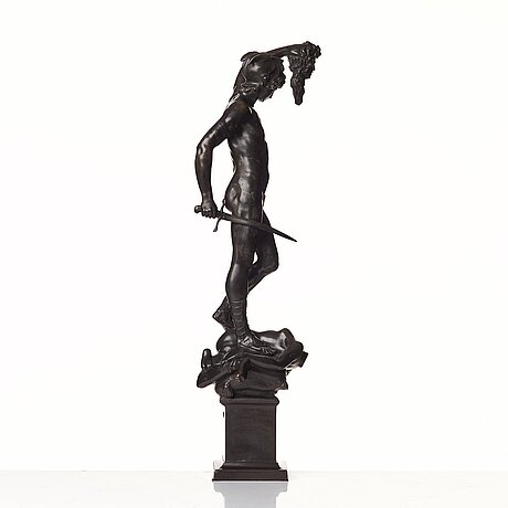 """Benvenuto cellini after, """"perseus with the head of medusa""""."""