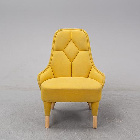 Fredrik färg & emma marga blanche, an 'emma' easy chair from gärsnäs.