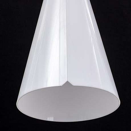 Hans bergström, two 'struten' ceiling lamps, for atelje lyktan.