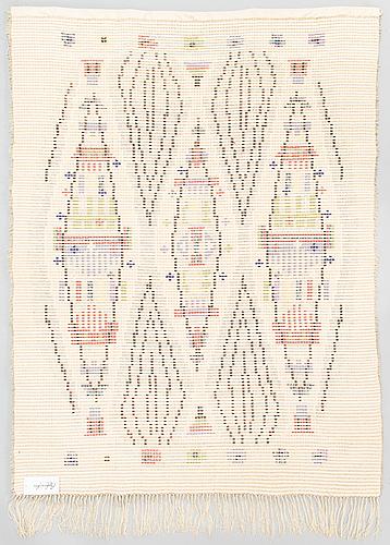 Laura korpikaivo-tamminen,  a finnish long pile ryijy rug. circa 150 x 110, cm.