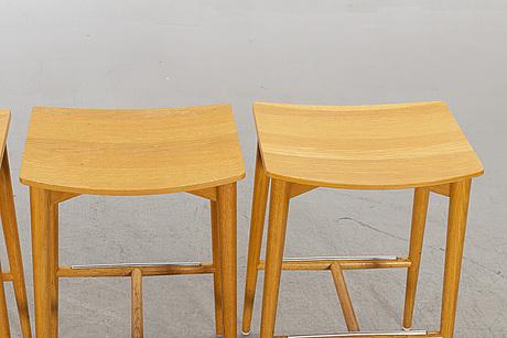 """Jonas lindvall, pallar 4 st. """"oak"""", skandiform, 2000-tal."""