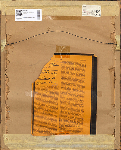 Anders zorn, etsning, 1906, signerad.