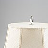 A cg hallberg silver plated 1920/30's table lamp,