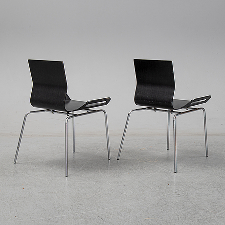 BjÖrn dahlstrÖm, six model b6 chairs from cbi, 1990's.