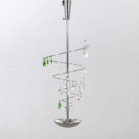 Toni cordero, taklampa, artemide, italien, 1990-tal.