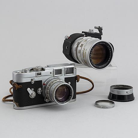 Leica m3, camera, single stroke.