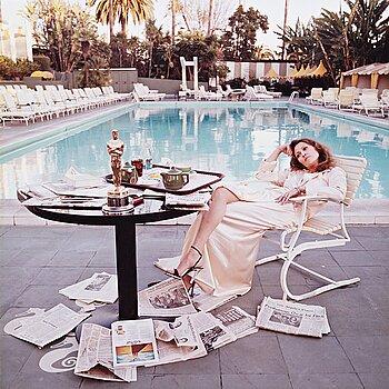 "251. Terry O'Neill, ""Faye Dunaway, Hollywood, 1977""."