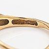 "Björn weckström, an 18k gold ring ""diamond well"" with a diamond ca. 0.02 ct. lapponia."