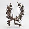 Dekorelement brons 1900-talets första hälft.