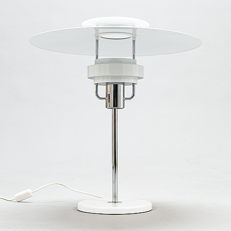 Olle andersson, a late 20th century ''aurora' table lamp for borens.