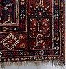 Matta, antik/semiantik kashgai/shiraz, ca 300-305 x 210-215 cm.