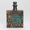 Annikki hovisaari, a ceramic vase, sgned ah arabia.