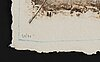 James coignard, 3 carborundum etchings, 1984, signed 50/90, 64/90, 4/90.