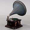 An early 20th century  english gramophone player.