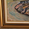 Albin amelin, gouache, signed amelin and dated -40.