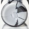 "Peter hermansson, a ""graal"" glass vase, glassblower micke johansson, sweden 2009."