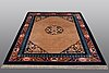 """A rug, old china, """"antique finish"""", ca 229 x 168 cm."""