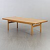 A oak coffee table mid 20th century,
