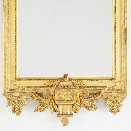 Nils sundström, gustavian mirror, stockholm, 1780.