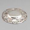 A silver dish, gab, stockholm 1948.
