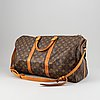 Louis vuitton, weekendbag, 'monogram keepall bandouliere 50'.
