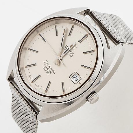 Omega, seamaster, cosmic 2000, wristwatch, 38 mm.