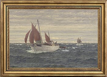 Emil Ekman, oil on canvas signed and dated 1939.