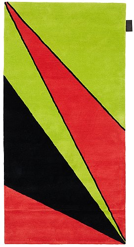 "Olle baertling, a carpet, ""erey"", hand tufted, baertling/asplund, ca 199 x 99,5 cm."