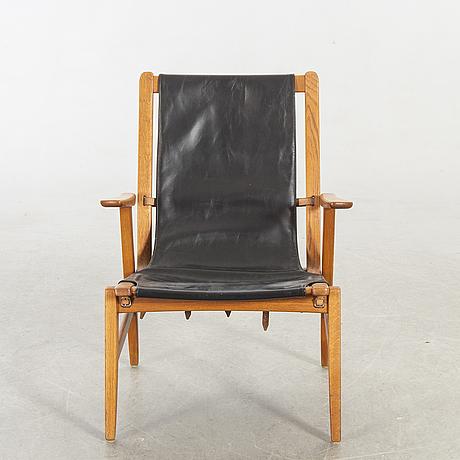 """Östen kristiansson, fåtölj, """"ulrika"""", vittsjö möbelfabrik 1960-tal."""