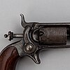 A colt 1855 root pocket reolver with serial no 20106.
