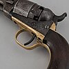 A cal.36 colt 1862 pocket revolver with serial no 6851.