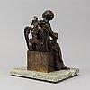 Sculpture, bronze.