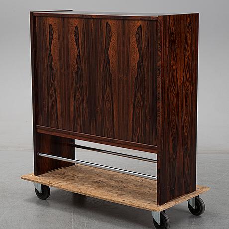 Erik buch, a danish rosewood bar, heltborg möbler. 1960's.