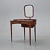 A birgitta dressing table by carl malmsten for bodafors dated 1964.