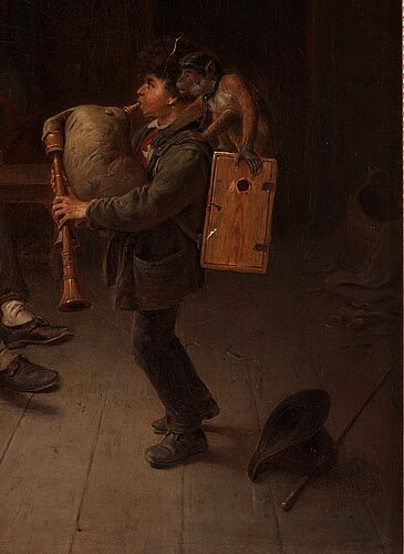 Bengt nordenberg, the little musician.
