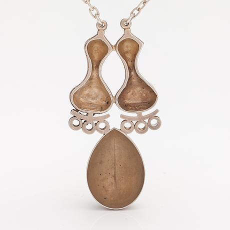 Jorma laine, a silver necklace. turun hopea, turku 1973.