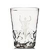 """Vicke lindstrand, """"christ calms the storm"""" a glass vase, orrefors, sweden 1935, model 1385, engraved by arthur diessner."""