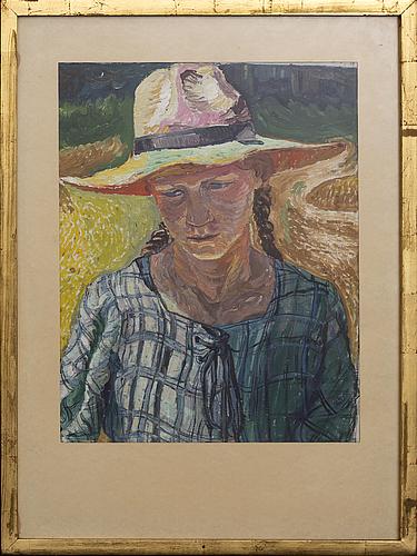Wilhelm von hillern-flinsch, oil on canvas.