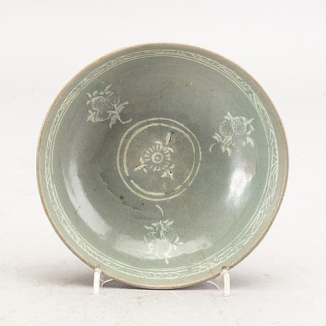 A korean koryo stone ware bowl.